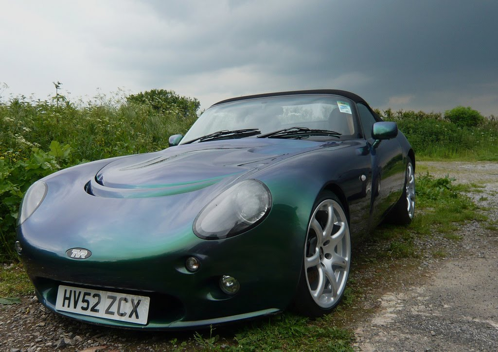 TVR in British Racing Green | TVR Unofficial Blog