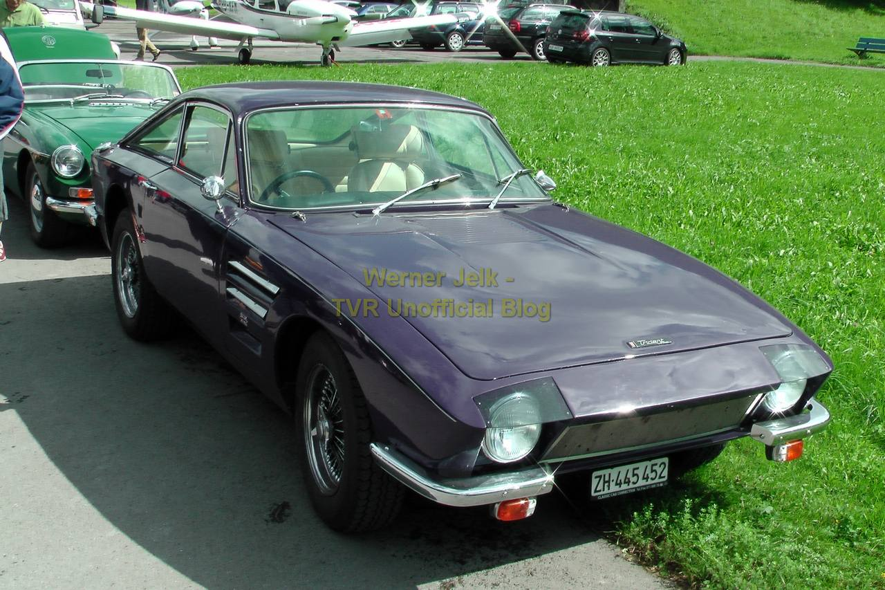 Tvr Pic Of The Day Trident Tvr Unofficial Blog