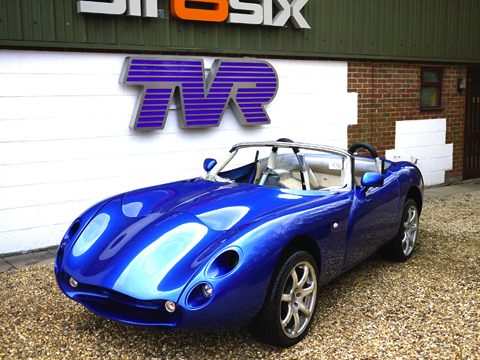 Brand New Tvr Tuscan Spider Being Completed At Str8six Tvr
