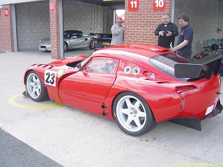 TVR unofficial blog Tvr Tuscan race version updated as TVR Sagaris race